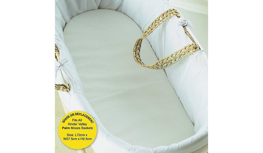 Kinder Flow Moses Basket Mattress Hide Details