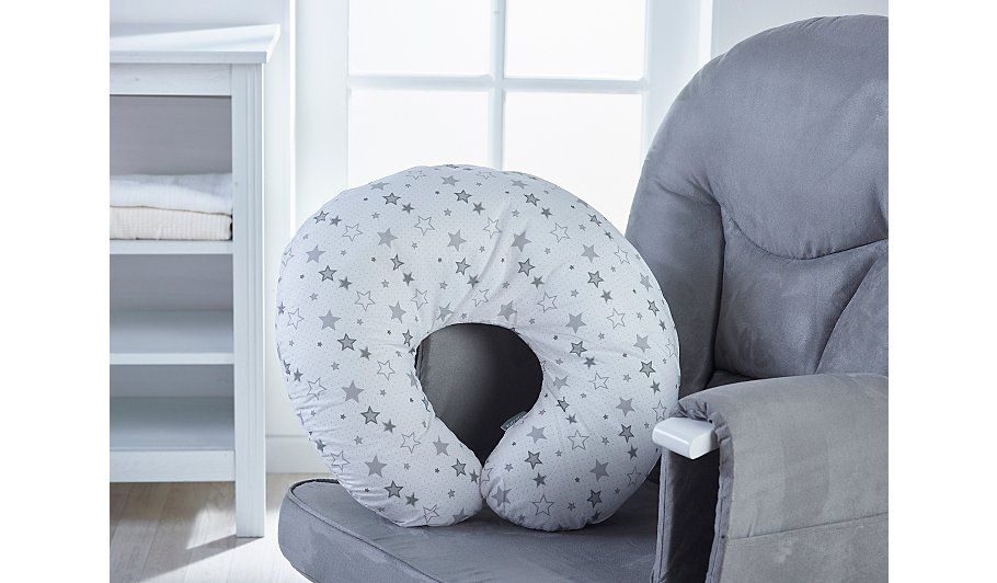 Kinder Valley Donut Nursing Pillow Stars Baby George