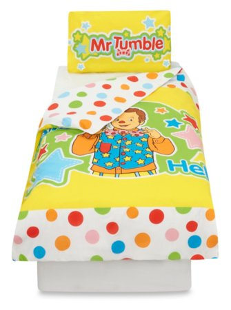 Mr Tumble Toddler Bedding Range