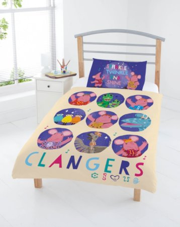 Clangers Toddler Bedding Ranges