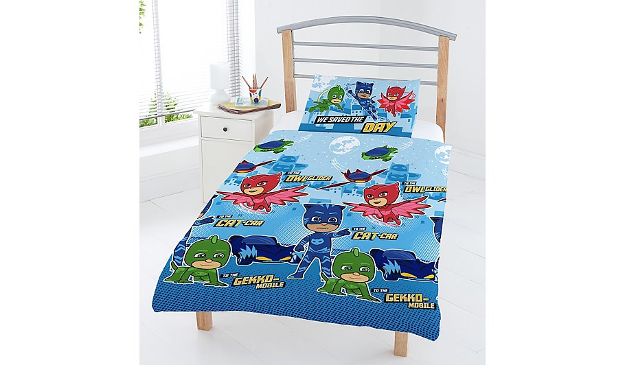 PJ Masks Vehicles Reversible Duvet Set