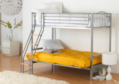 alaska futon bunk bed alaska futon bunk bed   kids beds   george at asda  rh   direct asda