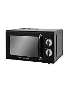 Rus Hobbs Rhretmm705b Manual Microwave Black