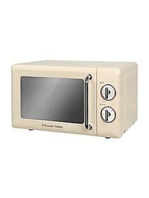35571ca0e Russell Hobbs RHRETMM705 Manual Microwave - Cream