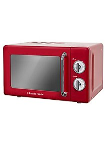 c8e70c54a0f5 Russell Hobbs RHRETMM705 Manual Microwave - Red