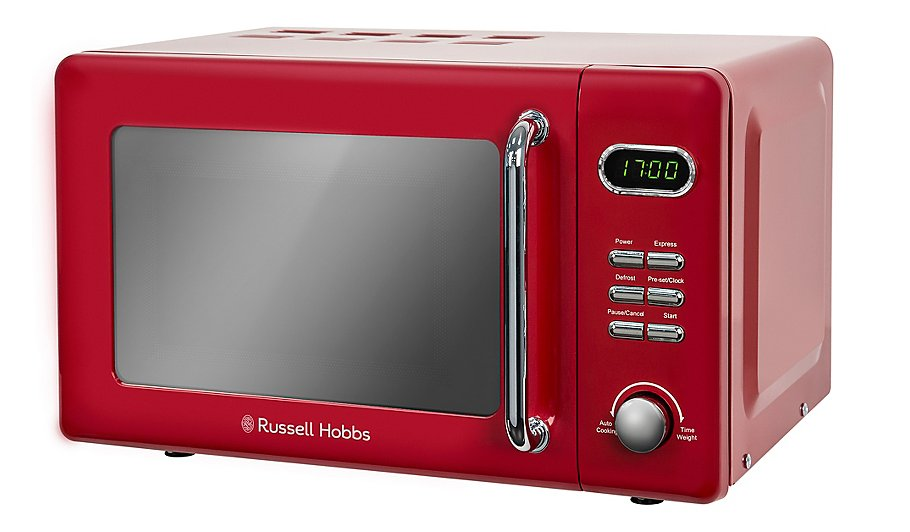 Rus Hobbs Rhretmd706 Digital Microwave Red Home Garden George