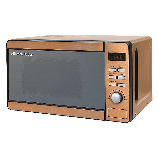 Rus Hobbs Rhmd804cp Copper Digital Microwave