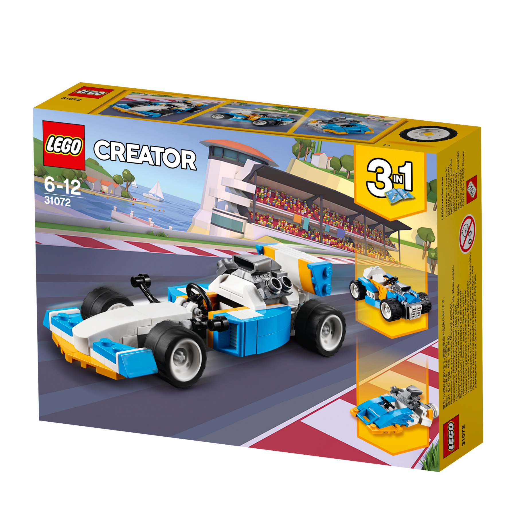 LEGO City Super Pack 3 in 1 Toys & Character