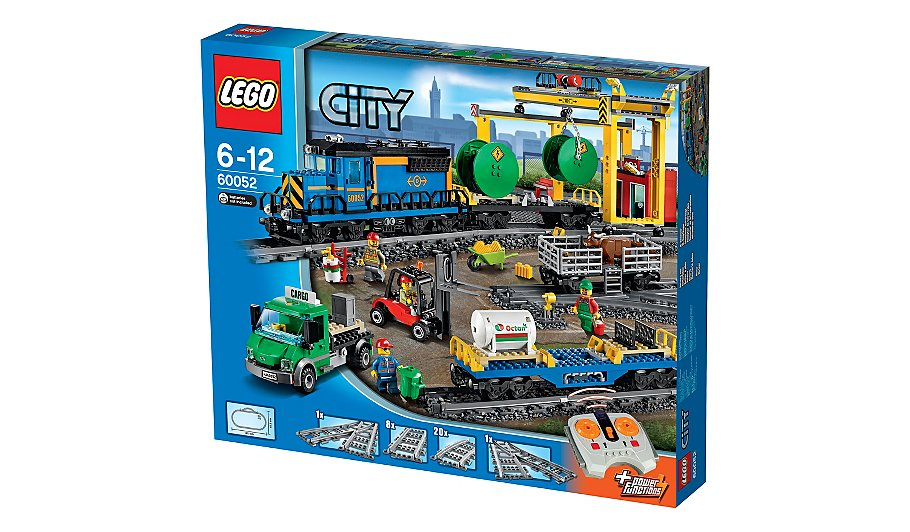LEGO City - Cargo Train - 60052 | Toys & Character | George