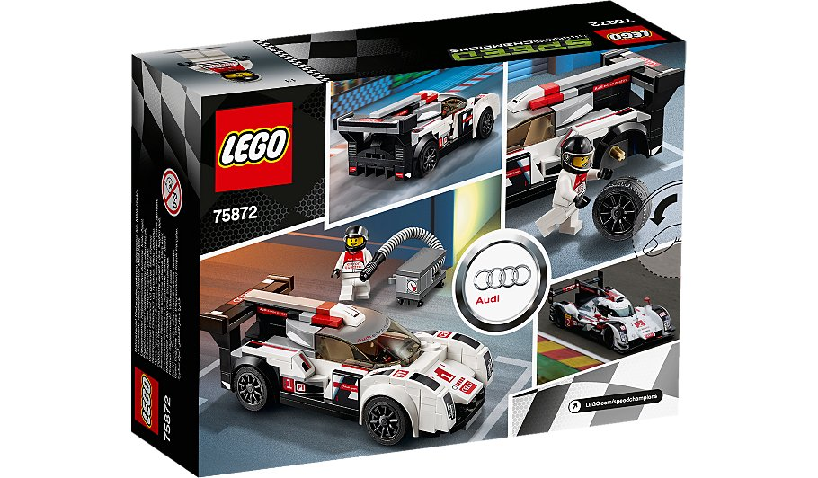Audi r8 lms ultra lego speed champions 14