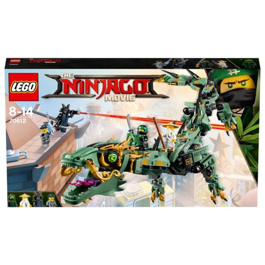 LEGO Ninjago - Green Ninja Mech Dragon - 70612   Toys & Character ...