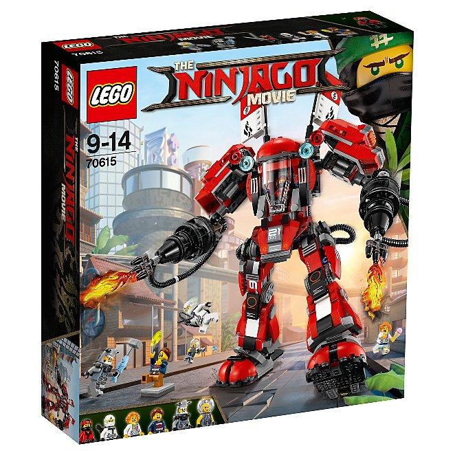Lego Ninjago Movie Fire Mech 70615 Toys Character George