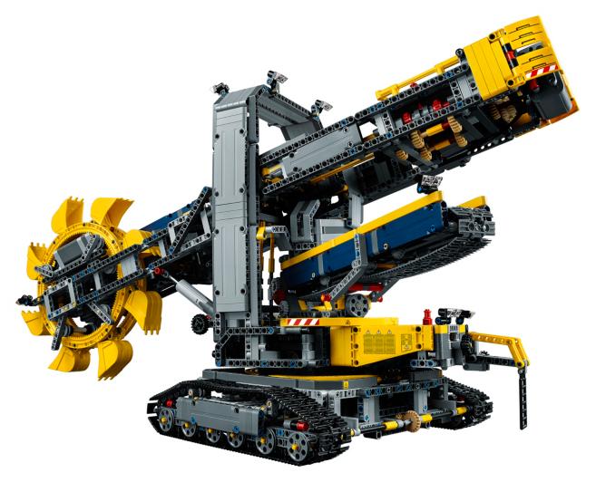 LEGO Technic - Bucket Wheel Excavator - 42055 | Toys & Character ...