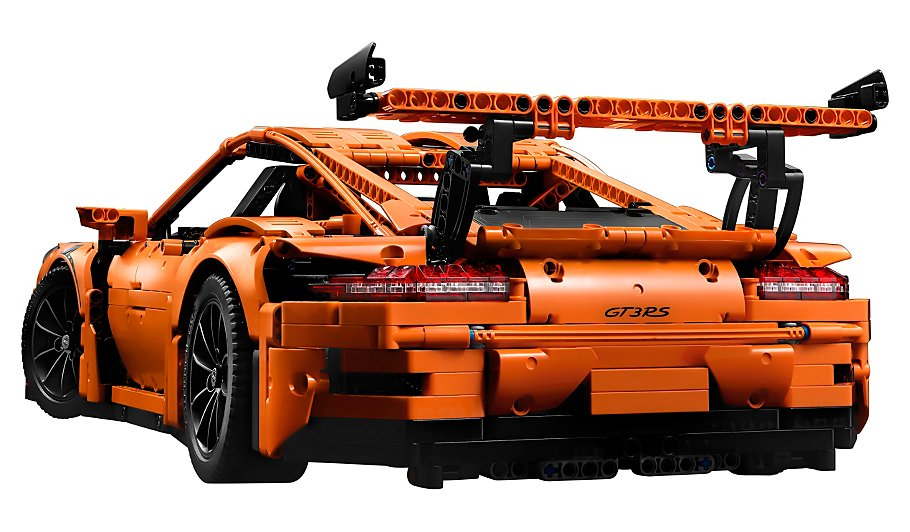 lego technic porsche 911 gt3 rs 42056 kids george at asda. Black Bedroom Furniture Sets. Home Design Ideas