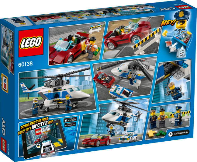 LEGO City - High-speed Chase - 60138 | Kids | George at ASDA