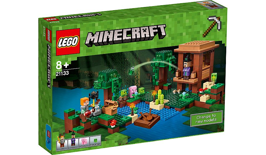 Lego minecraft the witch hut 21133 kids george at asda for Where is the closest craft store to my location