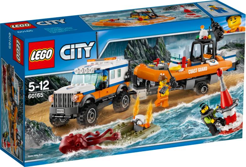 LEGO City - 4 x 4 Response Unit - 60165   Toys & Character   George