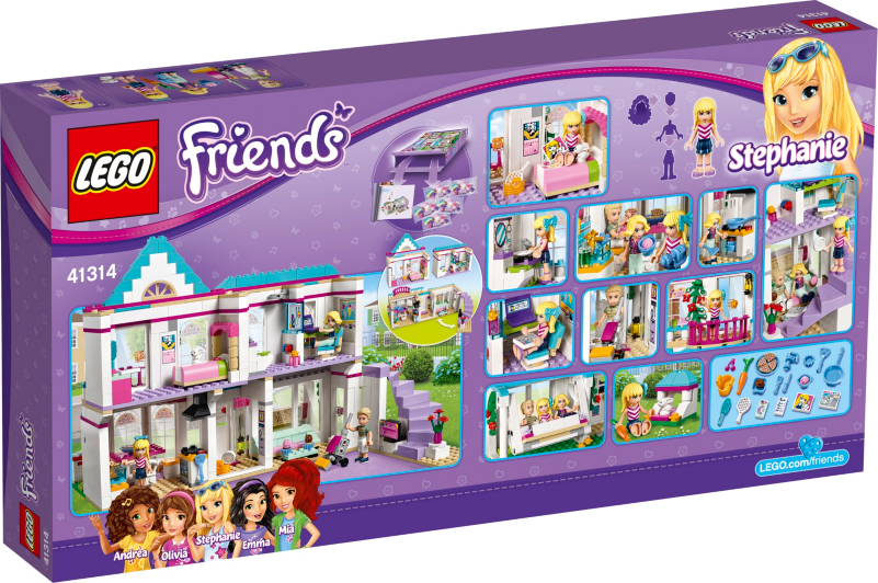 LEGO Friends - Stephanie's House Set - 41314 | Kids | George at ASDA
