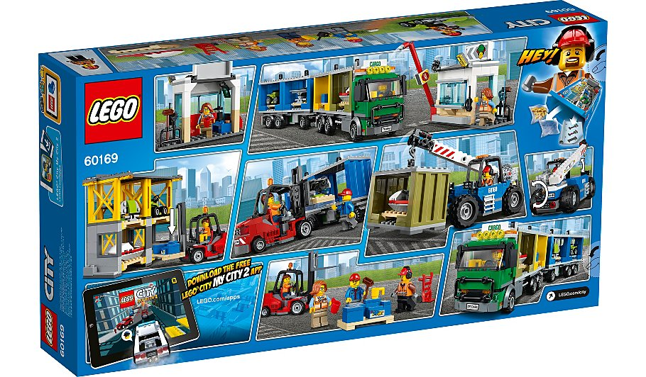 LEGO City - Cargo Terminal - 60169   Toys & Character   George