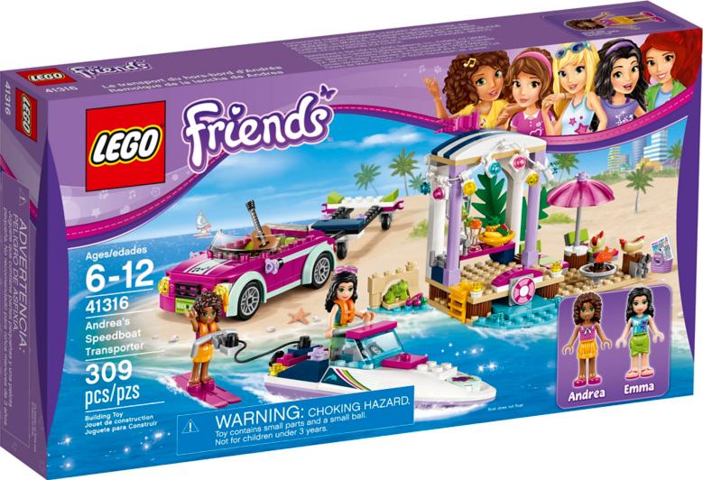 LEGO Friends - Andrea's Speedboat Transporter - 41316 | Toys ...