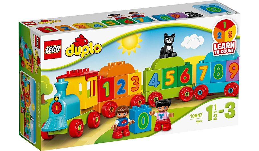 LEGO DUPLO - Number Train - 10847 | Kids | George at ASDA