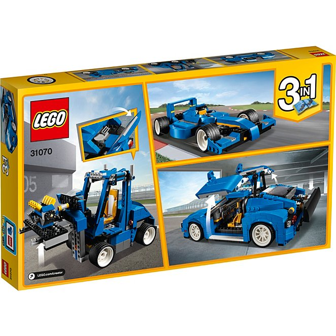 Lego Creator Turbo Track Racer 31070 Toys Character George
