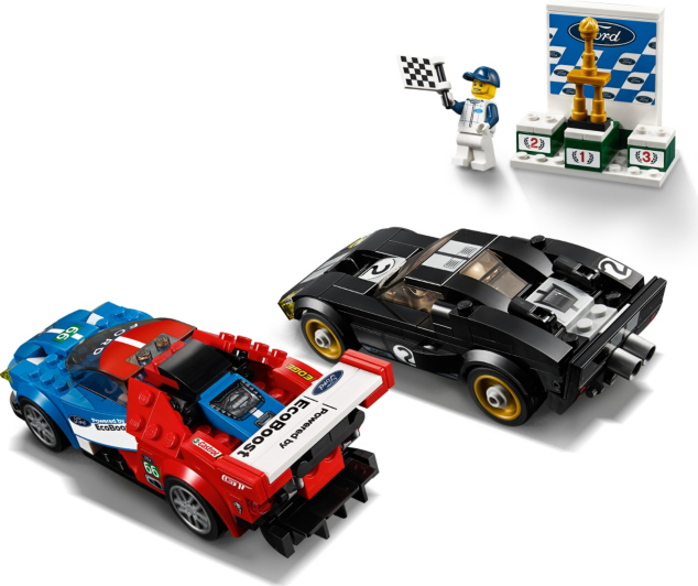 LEGO Speed Champions - 2016 Ford GT & 1966 Ford GT40 - 75881 | Kids ...