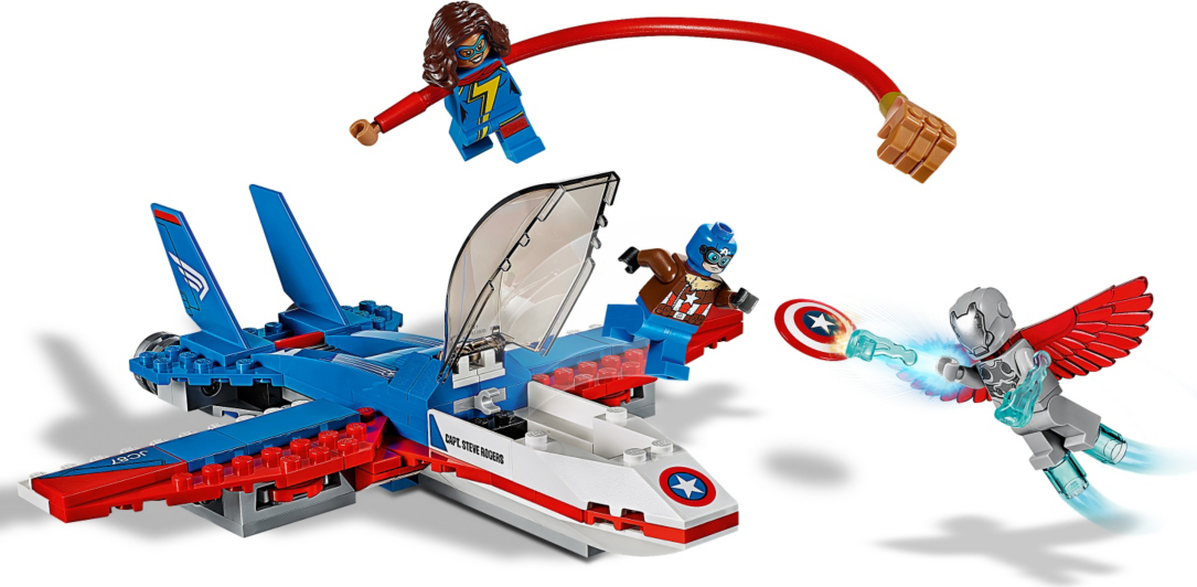 LEGO Super Heroes - Captain America Jet Pursuit - 76076 ...
