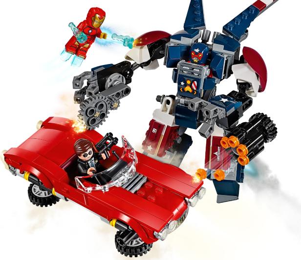 LEGO Super Heroes - Iron Man: Detroit Steel Strikes ...