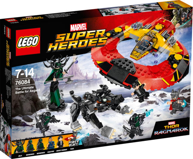 LEGO Super Heroes - The Ultimate Battle for Asgard - 76084 | Toys ...