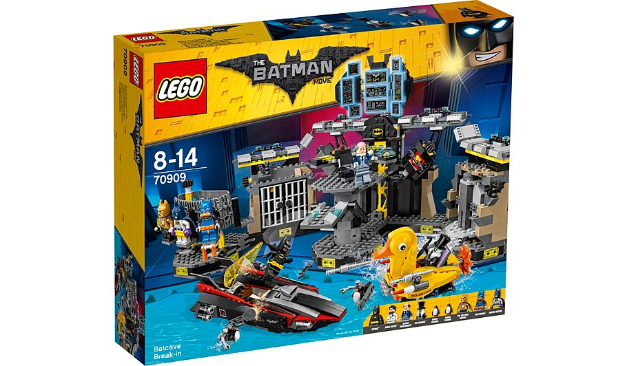Lego Batman Movie Batcave Break In 70909 Toys Character George