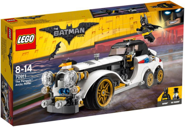 New Cars For Sale 2017 >> LEGO Batman Movie - The Penguin Arctic Roller - 70911 | Kids | George at ASDA