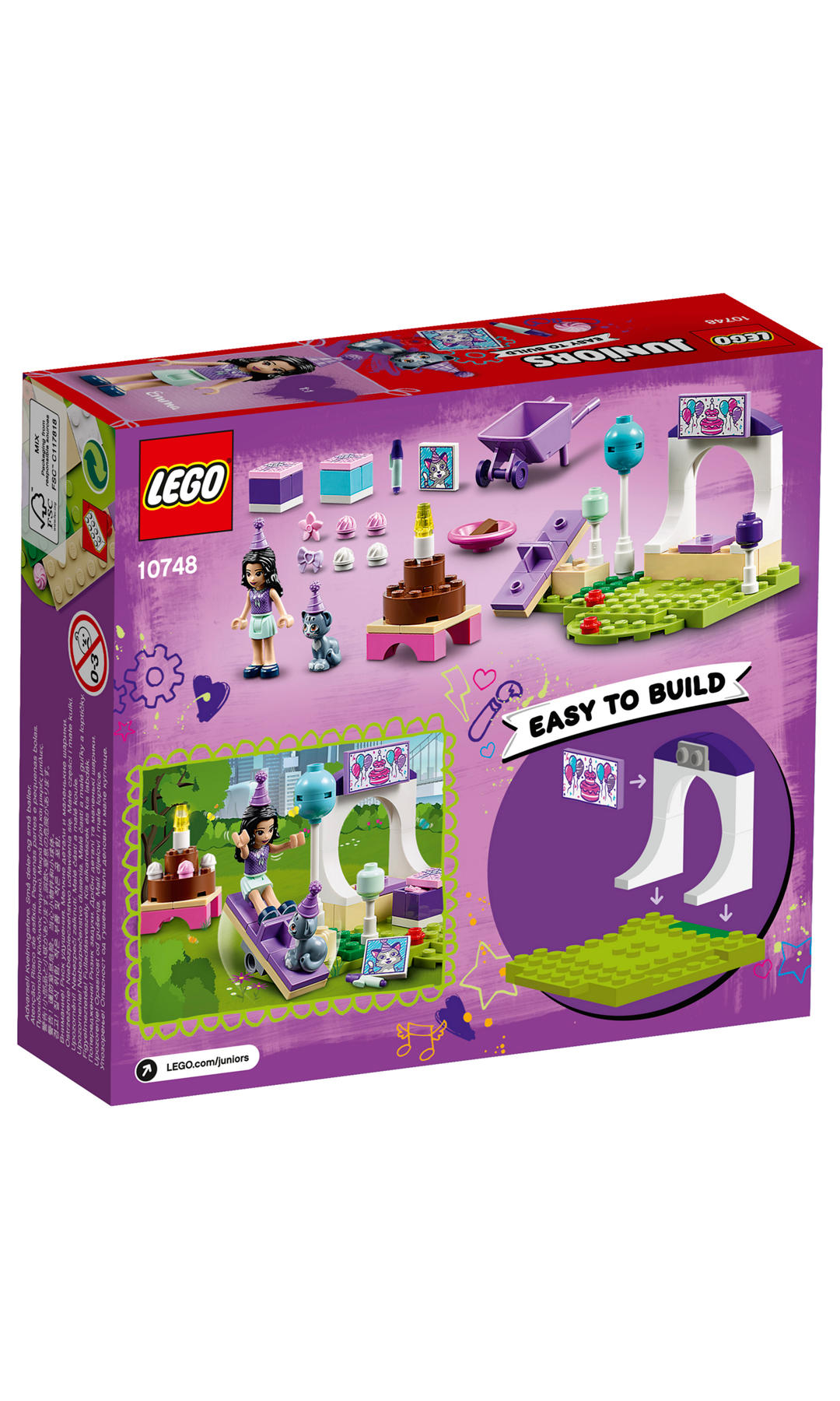 LEGO Juniors Emma s Pet Party Collections