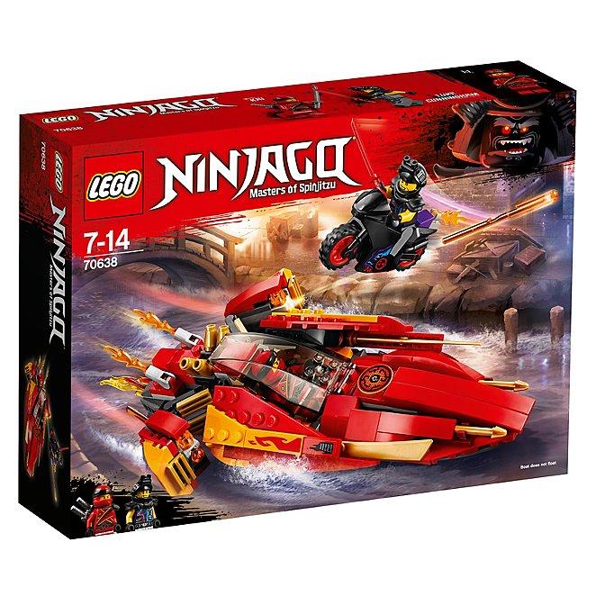 Lego 70638 Ninjago Katana V11 Boat And Bike Toy Toys Character