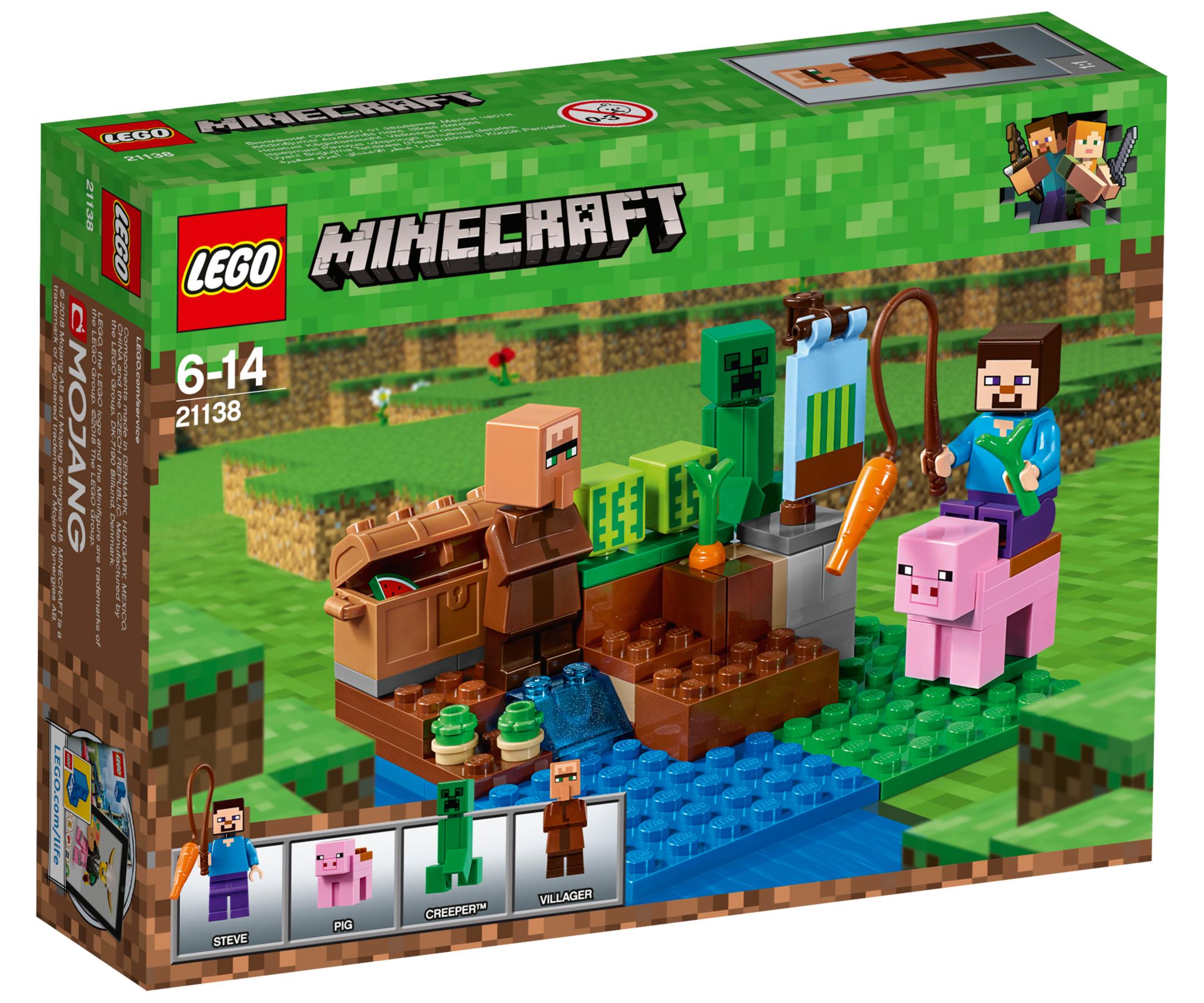 LEGO Minecraft The Melon Farm Toys & Character