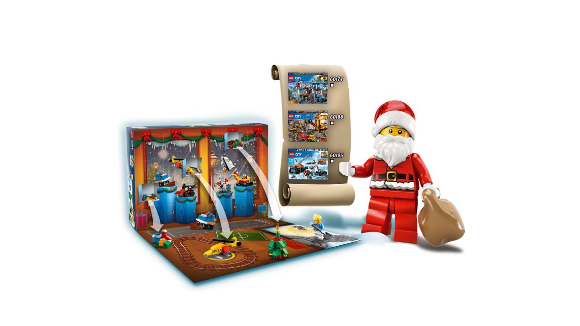 Lego City Advent Calendar 60201 Toys Character George