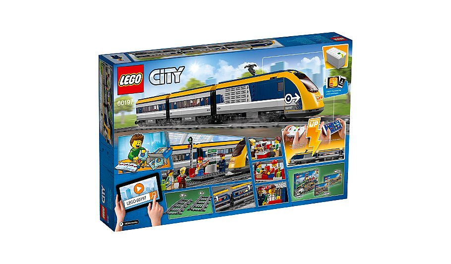 Lego City Passenger Train 60197 Toys Character George