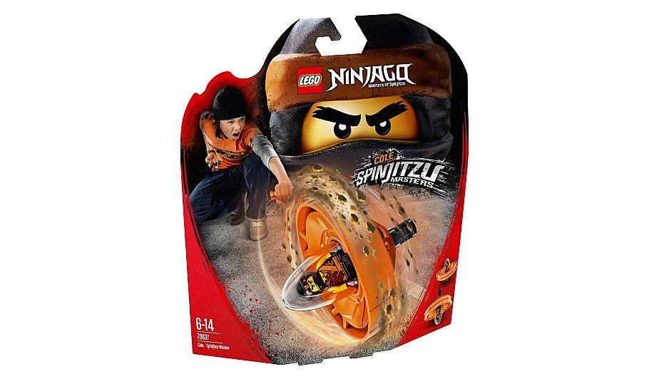 lego ninjago cole spinjitzu master 70637 toys character george - Ninjago Spinjitzu