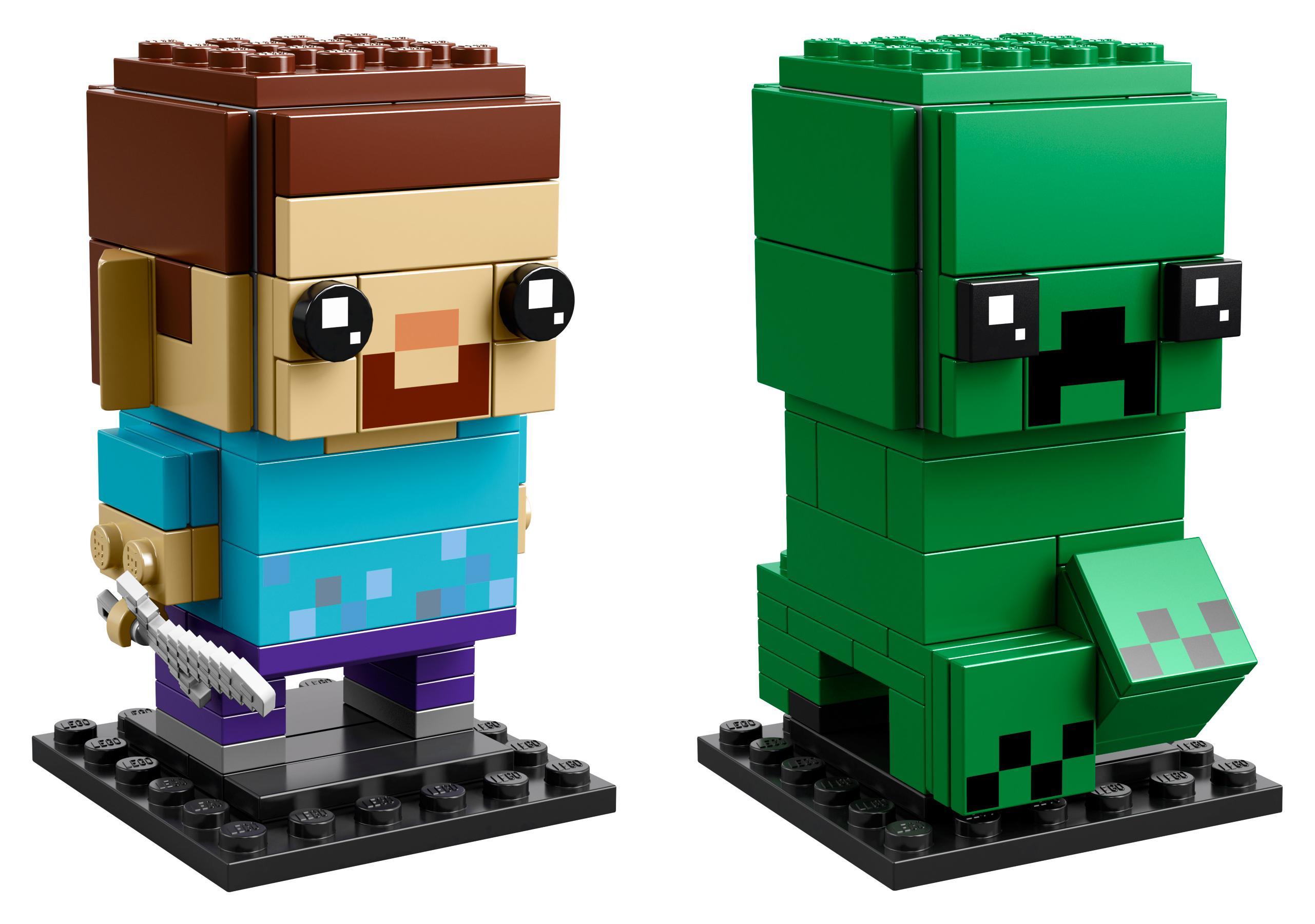 LEGO BrickHeadz Steve and Creeper Toys & Character