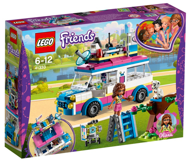 LEGO Friends - Olivia's Mission Vehicle - 41333 | Toys & Character ...