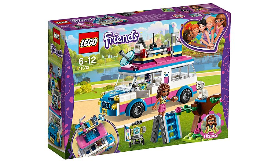 Lego Friends Olivias Mission Vehicle 41333 Toys Character