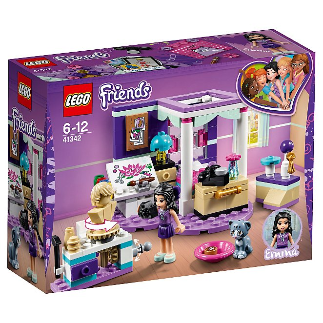 Lego Friends Emmas Deluxe Bedroom 41342 Toys Character George