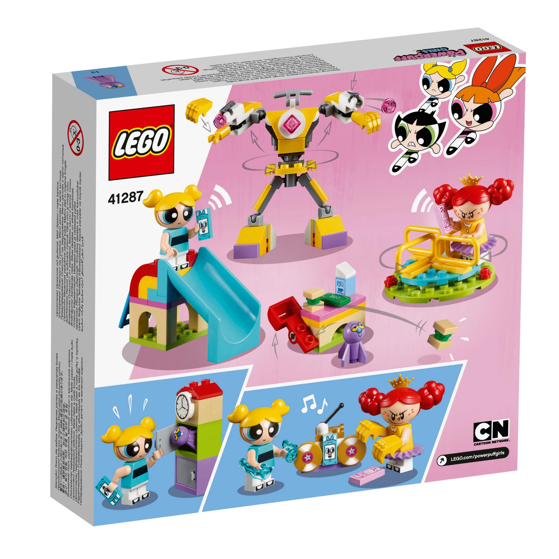 LEGO The PowerPuff Girls Bubbles Playground Showdown