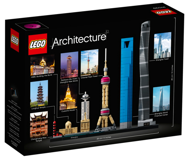LEGO Architecture - Shanghai - 21039 | Toys & Character | George