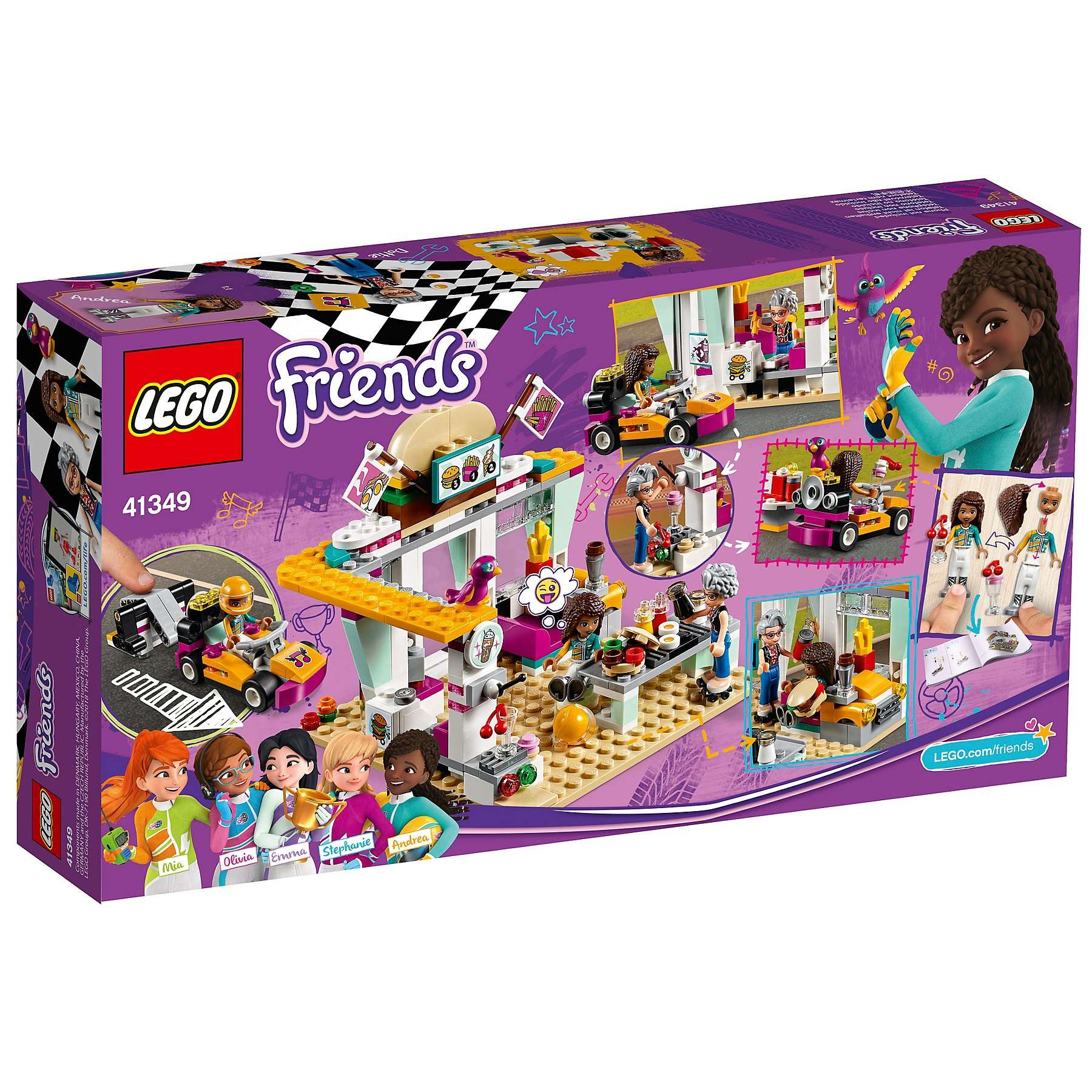 Lego 41349 Friends Heartlake Drifting Diner Toy Toys Character
