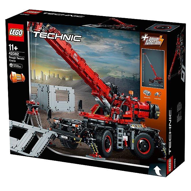 Lego Technic Rough Terrain Crane 42082 Toys Character George