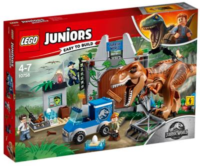 LEGO Juniors Jurassic World   T. Rex Breakout   10758 | Toys U0026 Character |  George