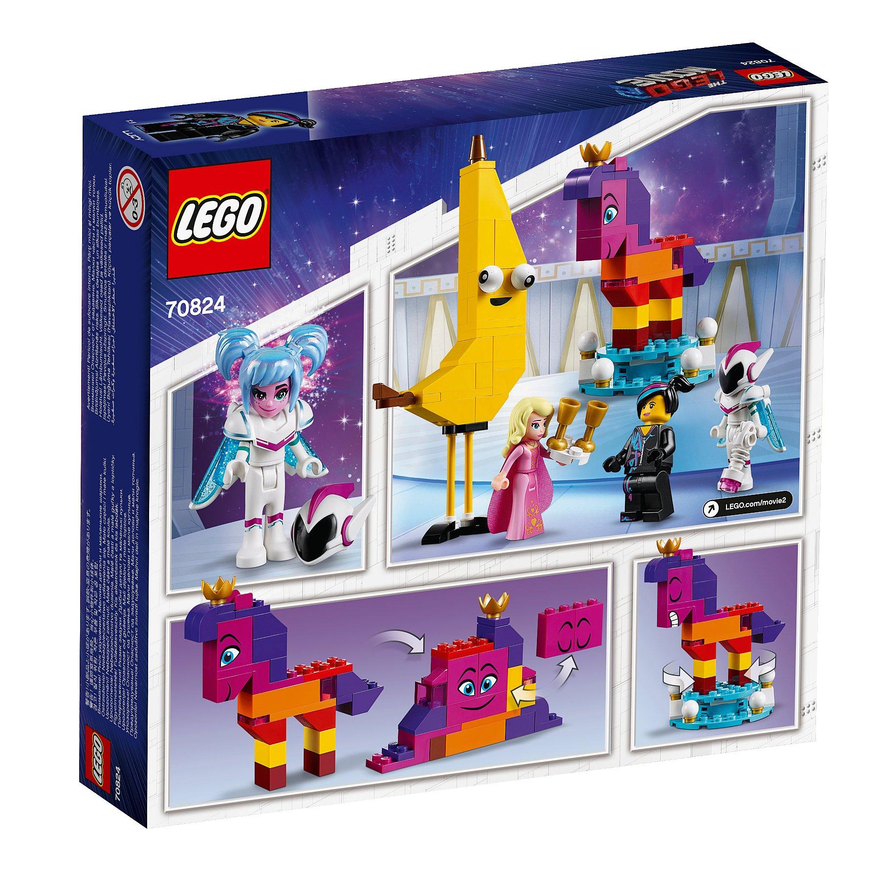 Lego Movie 2 70824 Introducing Queen Watevra Wanabi Toys