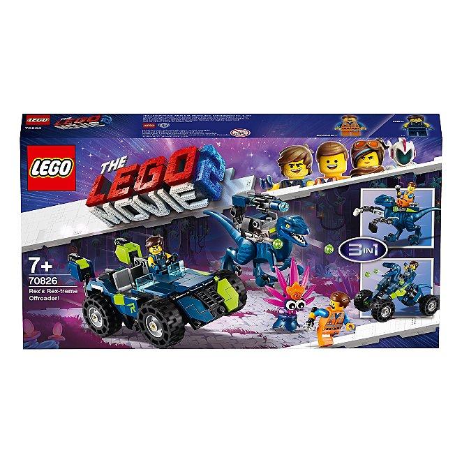 Lego Movie 2 70826 Rexs Rex Treme Offroader Toys Character
