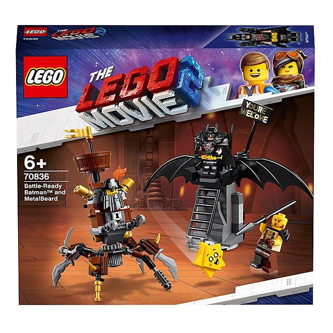 Lego Movie 2 70836 Battle Ready Batman And Metalbeard Toys Character George